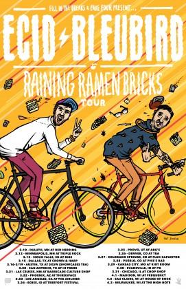 Raining Ramen Bricks 11x17 with DATES 2